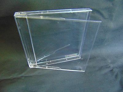 Packed lot of 300 new 3.5 inch clear plastic calendar cases/presentation boxes