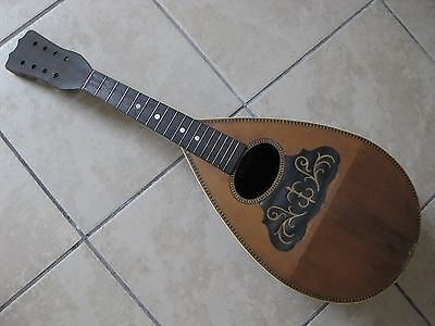 Vintage Antique Stella Mandolin Project Repair Parts Restore