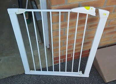 Baby Gate by Mothercare Pressure Fix (no drilling) Wide Walk-through Extra Tall