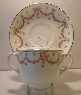 Rare Hammersley Chocolate Cup And Saucer 13926