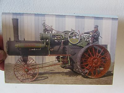 Vintage Case Tractor Post Card Fifty H.P J.I Case Steam Engine Tractor