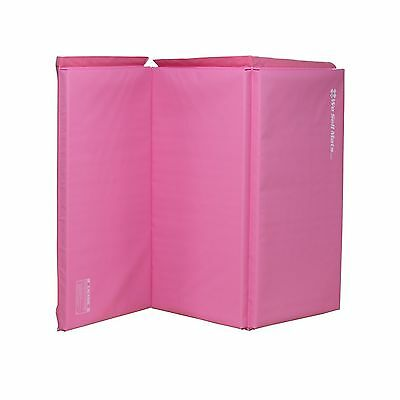 We Sell Mats Pink 2-Inch Thick 4-Feet by 6-Feet Gymnastics Tumbling Exercise ...