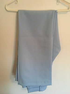 Adidas ladies pale blue golf trousers, size 14 (40 EUR), BNWT