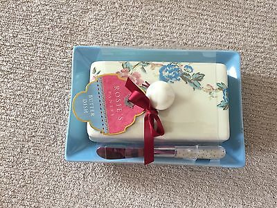 Brand New Rosie's Pantry Butter Dish