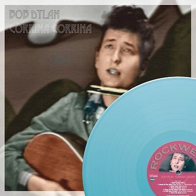 BOB DYLAN, CORRINA CORRINA, , Light Blue Vinyl Record Album LP, LIMITED 265