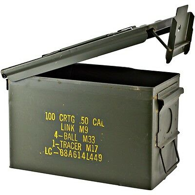 Military Surplus Ammo Cans - 50 Cal  **Local Pickup Only**