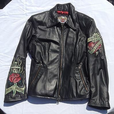 Harley Davidson ladies leather jacket, size M