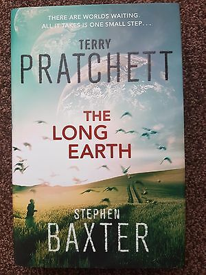 The Long Earth by Terry Pratchett, Stephen Baxter (Hardback, 2012, 1st Ed)