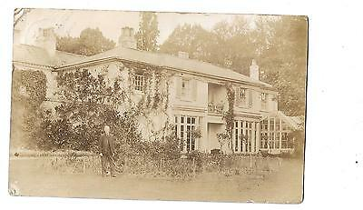Old Rp Postcard - 1912, Manor House, Abbots Morton, Worcester, Gentleman
