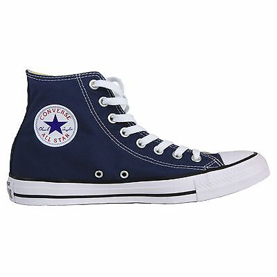 Converse Chuck Taylor All Star High Top Shoes Navy Men's 7/ Women's 9