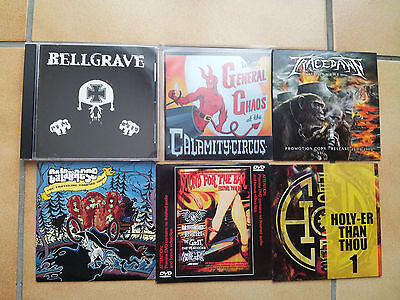 Lot De Cd Metal Hardcore/death