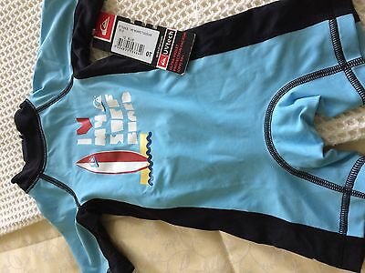 Quiksliver UV Protection Sunsuit/Swimsuit. 12--18 months. BNWT