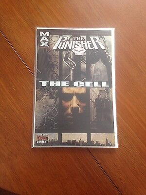 Marvel Max Comics The Punisher : The Cell