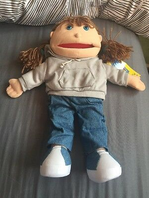 puppet company hand puppet girl