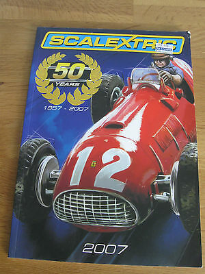 "Excellent Scalextric ""50th Anniversary"" 2007 Catalogue with Price List"