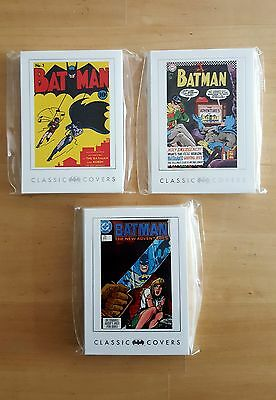 Dc Batman Archives - Classic Covers Complete Base Set #1-63 Trading Cards (2008)