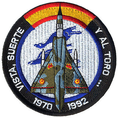 Parche Mirage-III Ejército del Aire España / Spanish Air Force patch. Military.