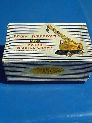Dinky crane boxed excellent condition
