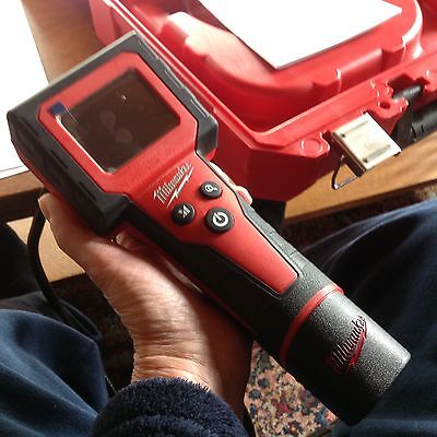 Milwaukee M-Spector Digital Inspection Camera 2300-20, AA batteries not included