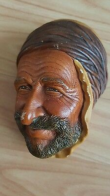 Bossons Collectable Wall Plaque Head Arab