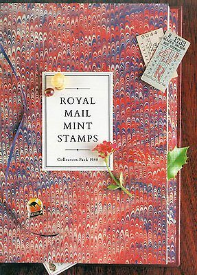 1988 Royal Mail Collectors Pack MINT STAMPS. Excellent Condition