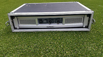 qsc gx5 power amp - used but in full working order with flight case
