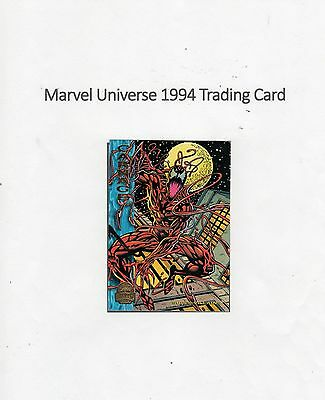 1994 Marvel Universe Trading Card #125 Spiderman - Carnage