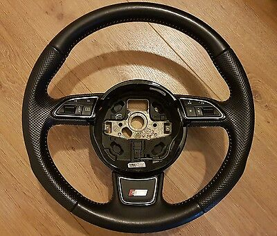 Audi S line Steering Wheel Genuine from a 2012 Q3