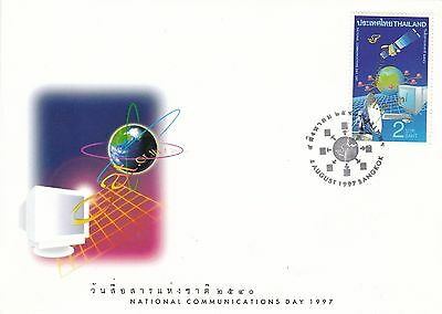 Communications Day 1997 Thailand FDC