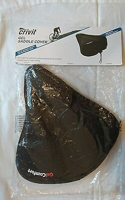 gel saddle cover city and touring bikes new non slip