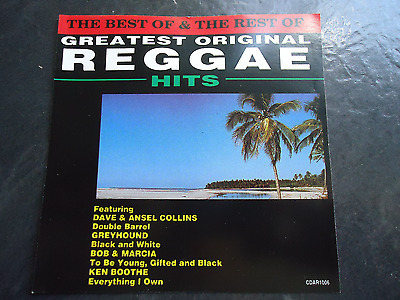 the best and the rest of greatest original reggae hits various artists cd album