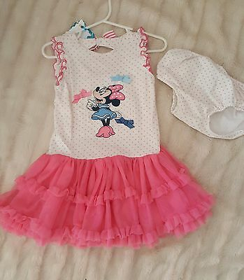 Disney Store Minnie Mouse Dress Baby Size 18-24 months