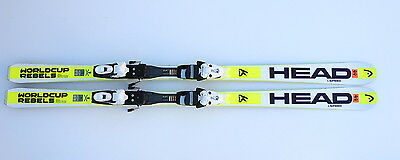 Head I.speed Worldcup Rebels 170 Cm Skis Ski + Tyrolia Sp 130 2016 N44