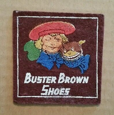 Buster Brown Shoes,Candy-Tobacco Felt,1910's-20's