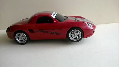Scalextric Red Porsche Boxster - complete and very fast.