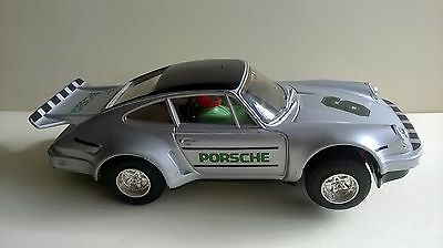 Scalextric Silver Porsche Turbo 935 with working headlights