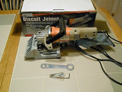 Chicago Electric Power Tools ,corded Biscuit Joiner #38648 6.4-Amp10000-Rpm Used