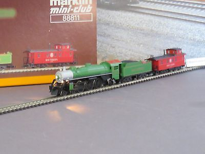Marklin 88811 Southern Steam Loco With Tender and Caboose Set