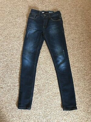 Boys Next Jeans Super Skinny Size 11 Years In Excellent Condition
