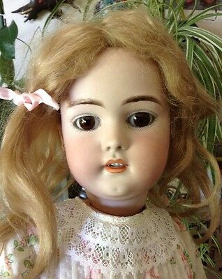 Antique German Doll 21 Inches Tall S & H 1079