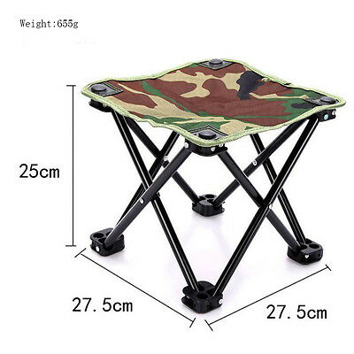 Outdoor Camping Picnic Chair Stool Mini Folding Prorable Fishing Tool Seat Chair