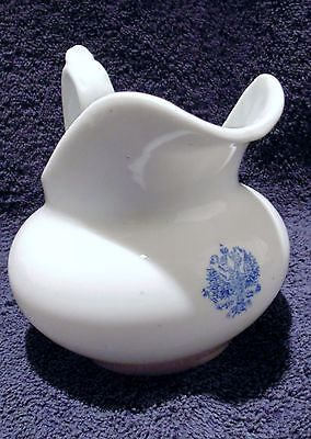 RARE Antique Imperial Russian Porcelain Cream Pitcher by Kuznetsov Factory