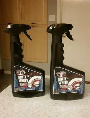 * TWO 2 Sanctiond Mister Cartoon Brite-White Wall Cleaner Tires Lowrider Bright