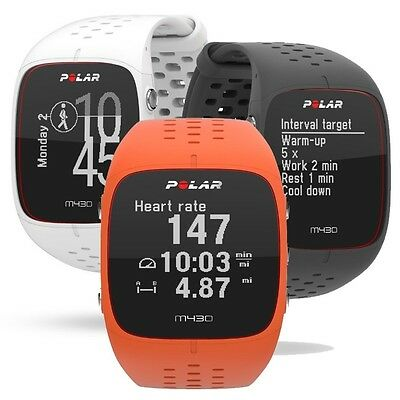 Polar M430 GPS Runners Watch 24/7 Activity Tracking And Wrist Heart Rate Sensor
