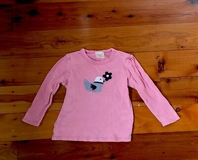 Seed Baby Girl Long Sleeved Shirt - Size 0