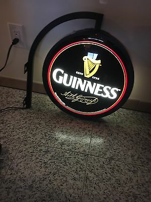 Guinness Two Sided Light Up Pub Sign