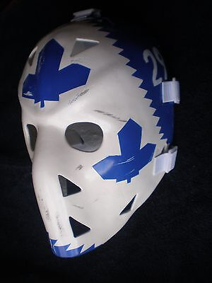 Vintage Mike Palmateer Toronto Maple Leafs Fiberglass Nhl Hockey Goalie Mask