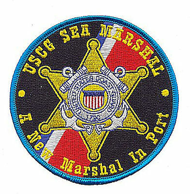 Sea Marshal A New Marshal in Port AH040N USCG Coast Guard patch