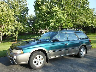 """1999 Subaru Legacy Outback 1999 SUBARU LEGACY OUTBACK WAGON """"LIMITED""""- CLEAN CARFAX, ALL WHEEL DRIVE, NICE!"""