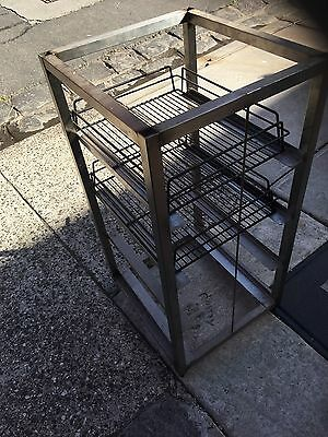 Cafe / RestaurantGlass Rack Tray Holder Stand (Rock Solid) Comes With 2 Trays